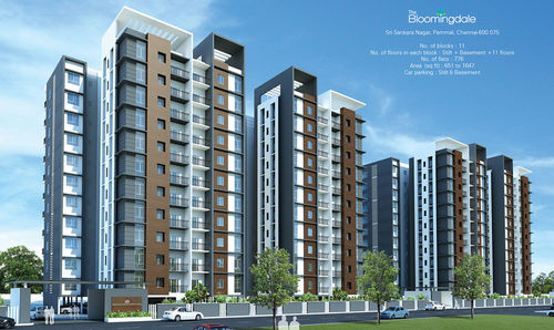 Medium the bloomingdale in pallavaram 40h