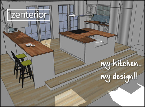 Small modular kitchen design cover image