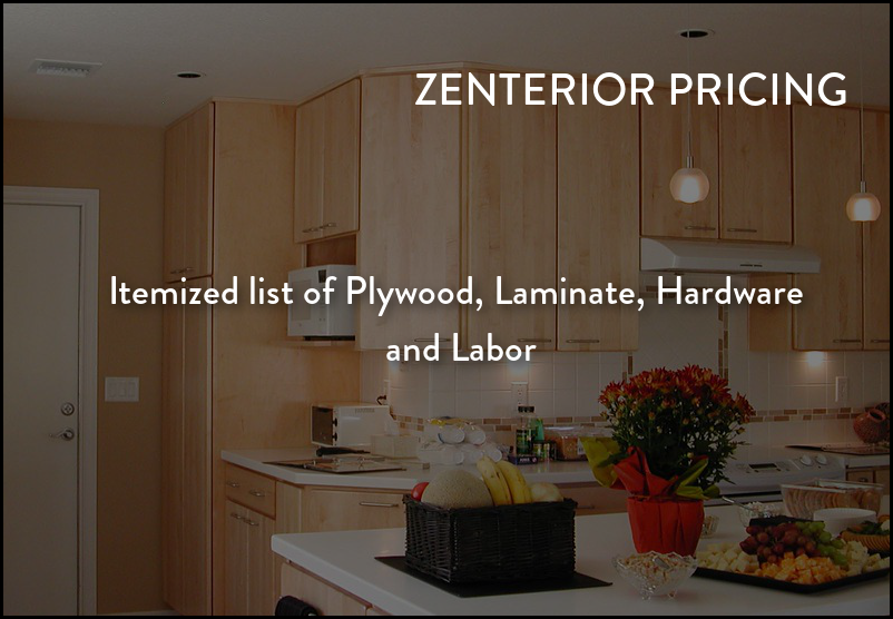 Itemized Material and Labor Billing for your Home Interiors