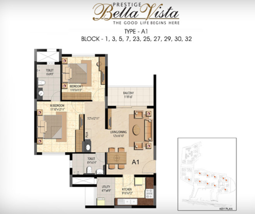 2BHK - Type A1