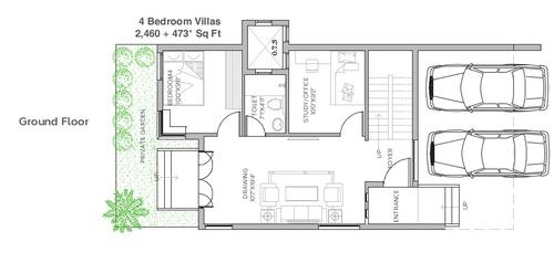 BBCL Stanburry - 3 BHK Villa