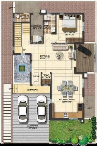 Mahidhara Supreme -3BHK 3T Villa 2594 sq.ft