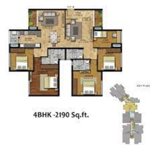 RWD Corniche 4BHK 2190 Sqft