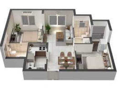 House of Champions 2BHK 840sq.ft.