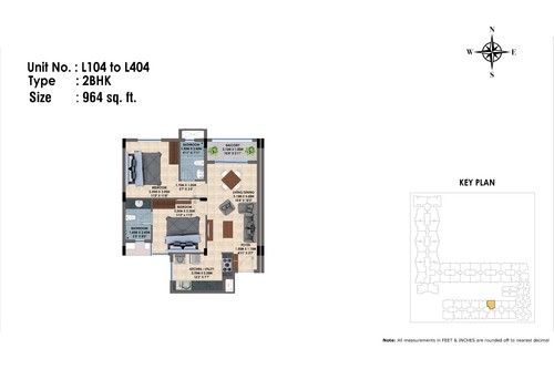 L104 to 404(2BHK)