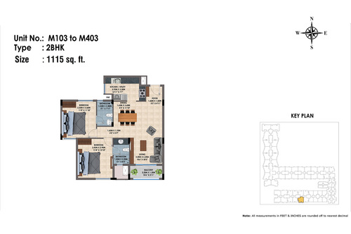M103 to 403(2BHK)