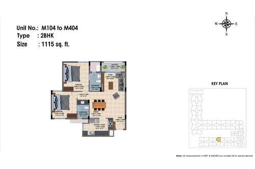 M104 to 404(2BHK)