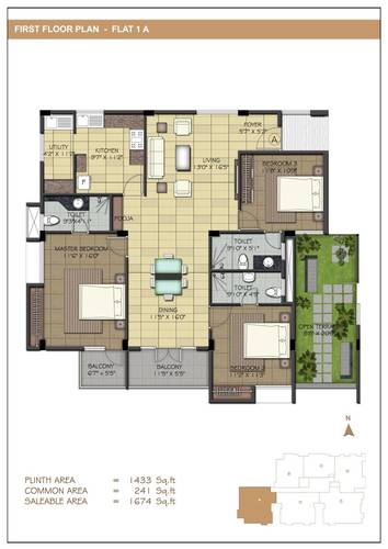 3BHK - Type A