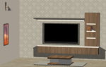 Living Room 1 - Design 1