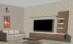 Living Room 1 - Design 2