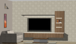 Living Room 1 - Design 3