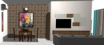 Living Room 2 - Design 1