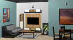 Living Room 3 - Design 2
