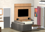 Living Room 4 - Design 1