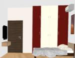 B102 to B402, C102 to C402(3BHK) - Design 1