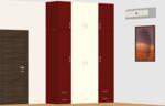 B102 to B402, C102 to C402(3BHK) - Design 2