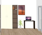 D102 to D402(3BHK) - Design 1