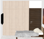 E,F,G,H,O 101 to 401(3BHK) - Design 3
