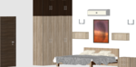E,F,G,H,O 101 to 401(3BHK) - Design 5