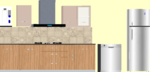 E,F,G,H,O 101 to 401(3BHK) - Design 7