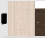 E,F,G,H,O 102 to 402(3BHK) - Design 3