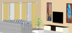 F,G,H 104 to 404 & O 204 to 404(3BHK) - Design 6