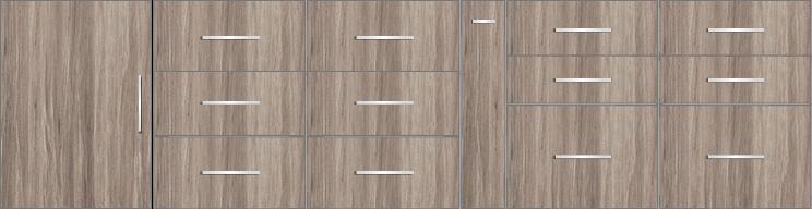Modular Design Kitchen Below the Counter 10ft - 14811