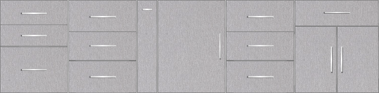 Kitchen Floor Cabinet 11ft - 49790_sf