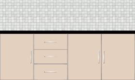 Kitchen Below the Counter 7ft - 22087 - Design 1