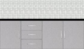 Kitchen Floor Cabinet 7ft - 49790_sf - Design 1