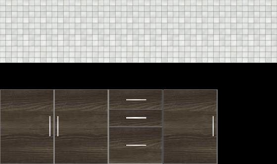 Modular Design Kitchen Below the Counter 7ft - 14553