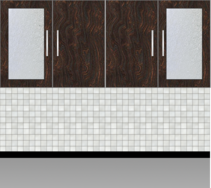 Modular Kitchen Wall Cabinet| Carsima Wood - Design 1