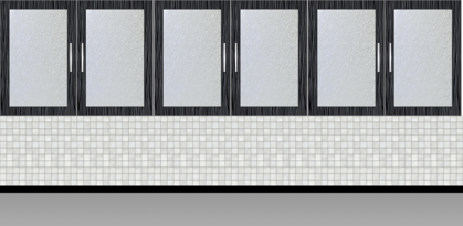 Modular Kitchen Wall Cabinet| Onyx Wall - Design 1
