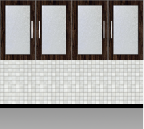 Modular Kitchen Wall Cabinet - Design 1