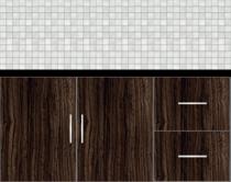 Modular Kitchen Floor Cabinet - Design 2