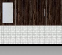 Modular Kitchen Wall Cabinet - Design 1