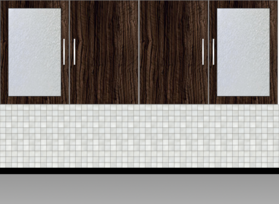 Modular Kitchen Wall Cabinet - Design 2