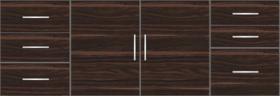 Kitchen Floor Cabinet 7ft - 14619 - Design 1