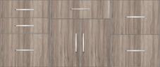 Kitchen Floor Cabinet 6ft - 14811 - Design 2