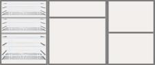 Modular Design Kitchen Floor Cabinet 6ft - 44282 - Design 2