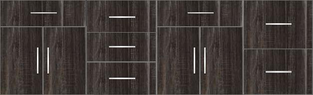 Modular Design Kitchen Floor Cabinet 8ft - 14695