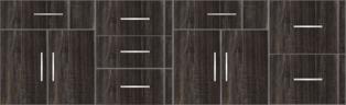 Modular Design Kitchen Floor Cabinet 8ft - 14695 - Design 1